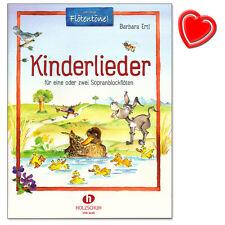 Kinderlieder für Sopranblockflöten - Verlag Holzschuh - VHR3648 - 9783864340840