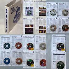PANASONIC 3DO Dealers / Salesman's Binder 14 Demos  4 Data Sheets And Letter