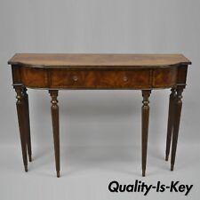 mahogany hall table. Maitland Smith Regency Sheraton Mahogany Narrow Console Sofa Hall Table 49\