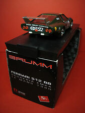 1/43 Ferrari 512 BB Scuderia EMKA Le Mans 1980 Brumm R212