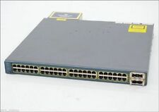 Cisco WS-C3560E-48PD-SF 48 Port Gigabit Layer 3 POE Switch 2x TenGig Uplinks