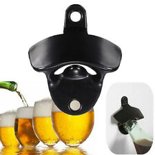 Convenient Stainless Steel Wall Mount Bar Beer Soda Glass Cap Bottle Opener ATAU