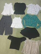 Girls Clothes Bundle Smart Casual Skirts Tops Blouse 10- 11-12 Years GC