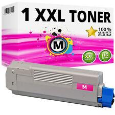 1x XXL Toner Patronen Magenta kompatibel für Oki C610 C610N C610DN C610DTN