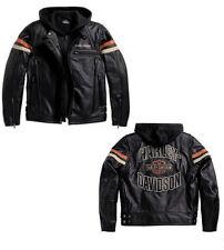 Lederjacke MOTORRAD chaqueta CUERO HARLEY DAVIDSON VEST SIZE XL Verkauf -25%  ST