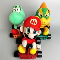 Rare 1993 Super Mario Kart cart Nintendo Plush doll 3 body set Takara Tomy japan