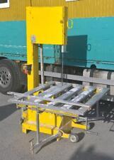 LISSMAC MBS 602 Jumbo Steinbandsäge  mit Rollentisch Ytonsäge Bandsäge Säge