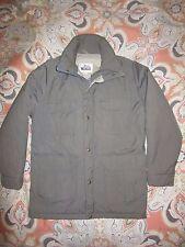 Vintage Woolrich Field Coat Windbreaker Jacket Men's M Made USA Semi Insulated