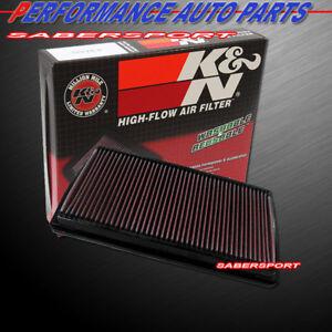 K&N 33-2066-1 Hi-Flow Air Intake Washable Replacement Drop in Filter