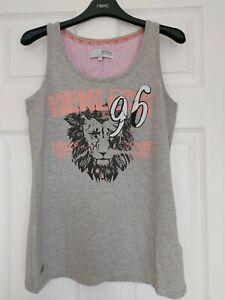 Ladies Bnwt Henleys Grey Vest Top Size 12