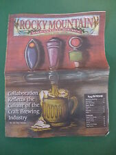 ROCKY MOUNTAIN BREWING NEWS April/May 2012 Collaboration in Beer Culture;Rockies