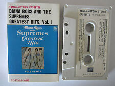 DIANA ROSS AND THE SUPREMES GREATEST HITS VOL 1 AUSTRALIAN CASSETTE TAPE