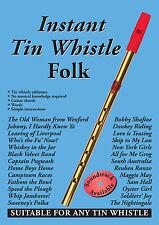 Instant tin whistle-folk livre uniquement: dave Mallinson