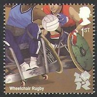 GB 2011 Sports/Olympics/Olympic Games/Wheelchair Rugby/Disabled 1v (b7812j)