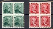 Germany Scott 470-471 Mint NH blocks (Catalog Value $48.00)