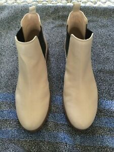 Clarks (Somerset Edition) Women Size 8M Nude Pink Leather Booties