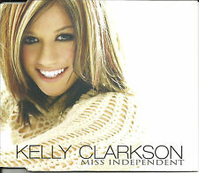 KELLY CLARKSON Miss Independent 2 UNRELEASED TRX & VIDEO CD single SEALED 2003