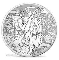 FRANKREICH 10 € Euro SILBER 2019 WALL VON BERLIN 1989 2019 30 JAHRE @ PORTOFREI