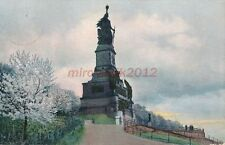 AK, Grafik, Rüdesheim - Niederwalddenkmal, 1911; 5026-39