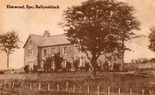 ELMWOOD SPA BALLYNAHINCH CO. DOWN IRELAND POSTCARD by BAILIE POSTED MARCH 1918