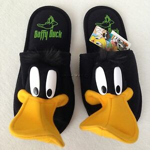 AUTHENTIC Looney Tones Daffy Duck Slippers Shoes Sandal US 6-10 UK 4-8 EU 36-42