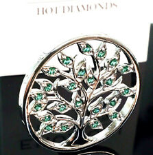 Emozioni Hot Diamonds Balance & Harmony Tree of Life 25mm Coin REVERSIBLE.  2in1
