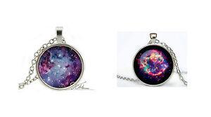Nebula / Space Pendant Necklace