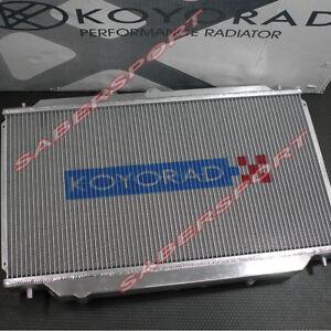 Koyo Aluminum Racing Radiator for 1986-1988 Mazda RX-7 FC M/T