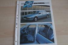 94031) Mazda 626 - Diesel - Prospekt 01/1984