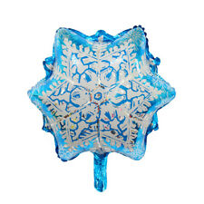 Snowflakes Foil Balloons Christmas Party Decor for Home Ornaments Xmas Santa new