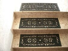 Stufenmatte Treppenstufe Gummi Relief Gummimatte Fußmatte Gussoptik 75x25cm