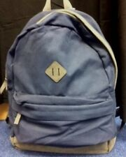 10L Canvas Backpack. Travel, School. Navy Blue: Tesco Kids