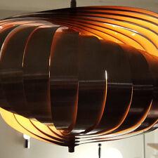 SUSPENSION LUSTRE LAMP DESIGN HENRI MATHIEU VERS 1970 MODERNISTE SPACE AGE