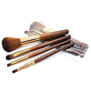 4Pc Kabuki Pro Make up Brush Brushes Set Makeup Foundation Blusher Eye Lip UK