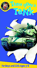 Real Wheels There Goes a Tank (VHS, 2003) NEW Sealed Ages 3-8