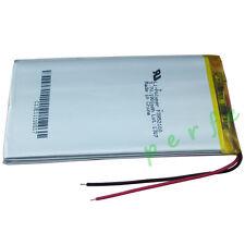 3.7 v 1900 Mah Recargable polímero de litio Batería Para Pda Gps Ipod Tablet Pc 3952100