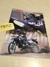 Yamaha DT125R moto DTR 125 prospectus brochure publicité prospekt