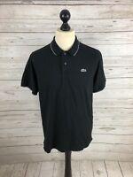 LACOSTE SPORT Polo Shirt - Size 5 Large - Black - Great Condition - Men's