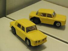 SLOT CAR auto de circuit Routier electrique  JOUEF RENAULT 8 R8 GORDINI JAUNE