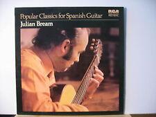 JULIAN BREAM Popular Classics for Spanish Guitar RCA RED SEAL LP FREE UK POST
