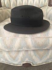 Rare Vintage YOUNG AN FEDORA HAT CAP Black FASHION COLLECTIBLE XL 7 1/2