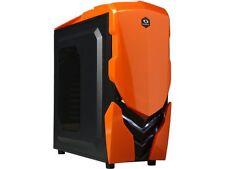 RAIDMAX Ninja II ATX-A06WBO Black / Orange Steel / Plastic ATX Tower Computer Ca