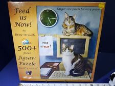 SunsOut #73819:  FEED US NOW!; 500+ Piece Jigsaw Puzzle