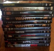 DVD Lot 12 Action Movies Most Only Viewed Once Very Good Condition 1 NEW!