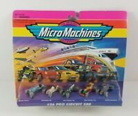 Micro Machines #36 Pro Circuit 500 New 1995 Galoob 5 Cars Scale Miniatures