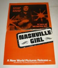 NASHVILLE GIRL PROMO MOVIE PRESS BOOK PRESSBOOK MONICA GAYLE SEXPLOITATION