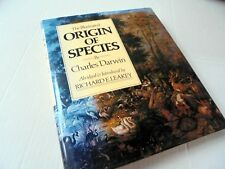THE ILLUSTRATED ORIGIN OF SPECIES by CHARLES DARWIN~RICHARD E. LEAKEY~1979
