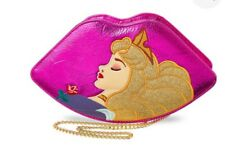 "DANIELLE NICOLE DISNEY ""SLEEPING BEAUTY"" Lips Crossbody Bag New"