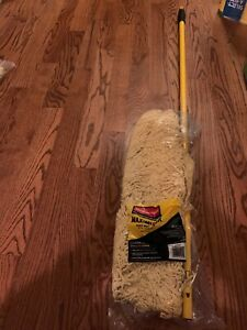 """Rubbermaid Commercial Maximizer Dust Mop Frame with Handle and Scraper, 24"""" x 5"""
