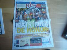 DIARIO AS CHAMPIOS LEAGUE 2014,REAL MADRID,NUEVO.